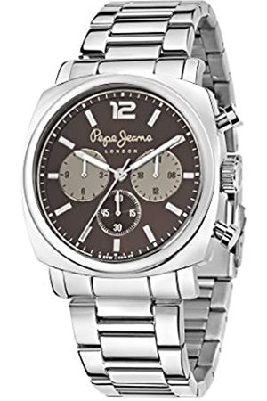 Pepe Jeans Howard Men's Quartz Watch with Dial Analogue Display and Stainless Steel Strap R2353111002