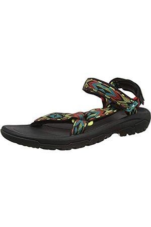 Teva Men's Hurricane XLT2 Open Toe Sandals, (Double Diamond Aurora Ddar)