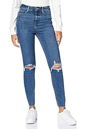 New Look Women's AW19 Lift&Shape Ripped Skinny Jeans