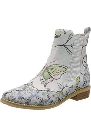 LAURA VITA Women's Hicko 021 Chelsea Boots, (Bleu Bleu)