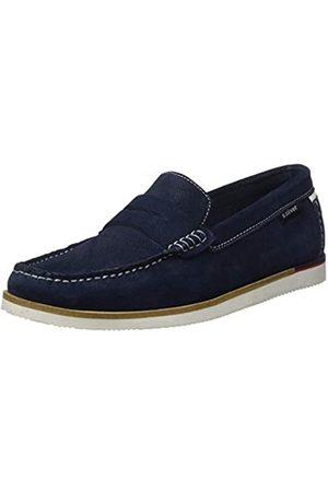 s.Oliver Men's 5-5-14608-24 Loafers, (Navy 805)