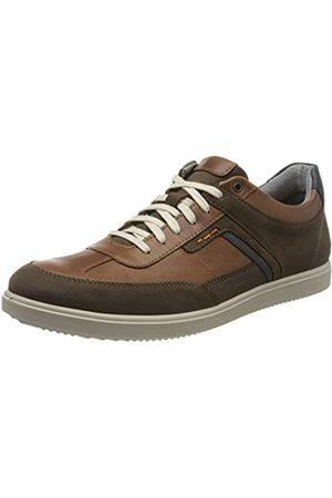 Jomos Men's 1928 Oxfords, (Choco/Cognac/Ozean 874-3168)