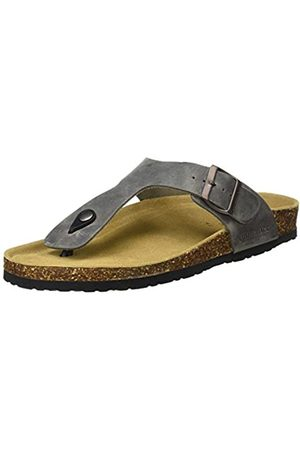 Lumberjack Men's Isla Open Toe Sandals, (Anthracite Cd001)