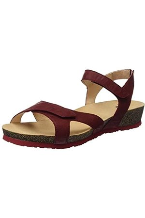 Think! Women's 686374_Dumia Sling Back Sandals, (Cherry 73)