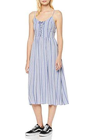 New Look Women's F Cruz Stripe Lattice Midi (6206437) Dress