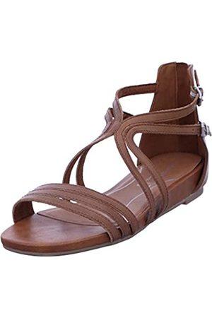 Marco Tozzi Women's 2-2-28424-24 Ankle Strap Sandals, (Nut 440)