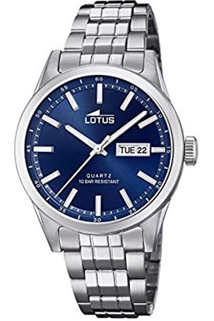 Lotus Mens Analogue Quartz Watch with Stainless Steel Strap 18670/3