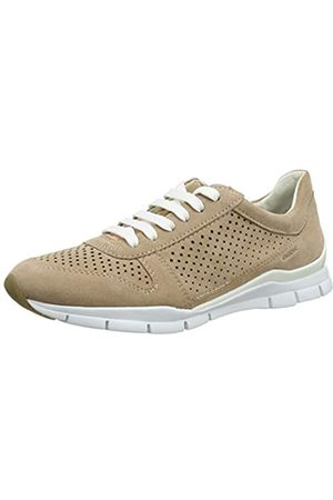 Geox Women's D Sukie B Low-Top Sneakers, (Dk Skin C8191)