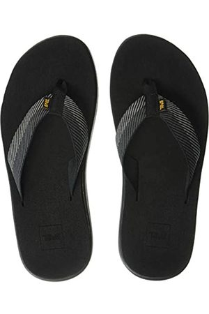 Teva Men's Voya Flip Open Back Slippers, (Vori Gray Vgbr)