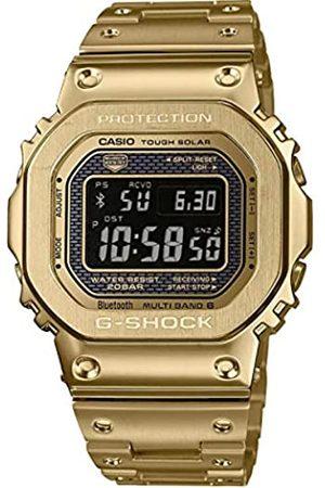 Casio Mens Digital Quartz Watch with Stainless Steel Strap GMW-B5000GD-9ER