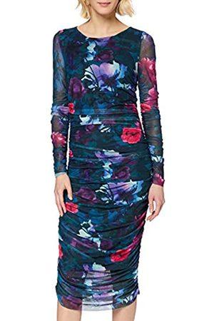 Apart Women's Printed Mesh Dress Party