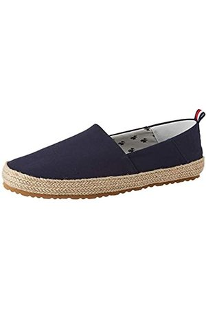 Tommy Hilfiger Men's Recycled Cotton Espadrille Mocassins, (Midnight Dw5)