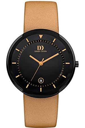Danish Designs Danish Design Men's Quartz Watch with Dial Analogue Display and Leather Strap DZ120494