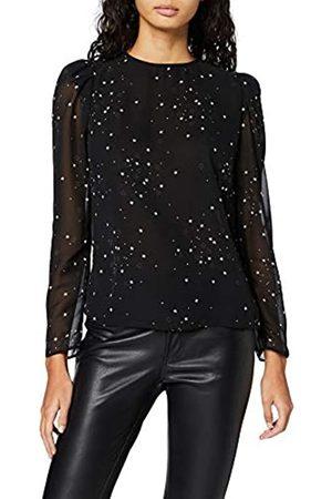New Look Women's CY EC SAM Star Ruched SLV LS S Shirt