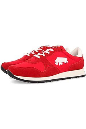 Gioseppo Men's Bloomfield Low-Top Sneakers, (Rojo Rojo)