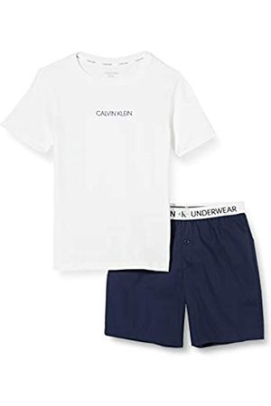 Calvin Klein Boy's Woven PJ Set (SS+Short) Pyjama