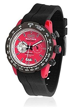 Bultaco Quartz Watch Chronograph Display and Rubber Strap H1PR43CCR1
