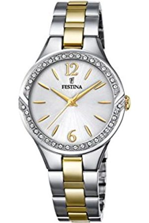 Festina Womens Analogue Quartz Connected Wrist Watch with Stainless Steel Strap F20247/2