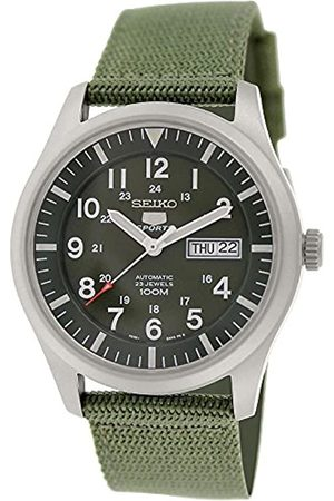 Seiko Men's Analogue Automatic Watch with Textile Strap - SNZG09K1