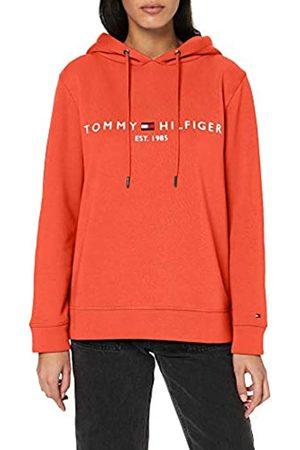 Tommy Hilfiger Women's TH ESS Hilfiger Hoodie LS Sweatshirt