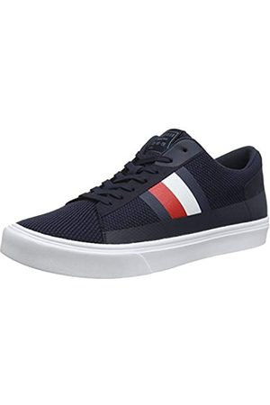 Tommy Hilfiger Men's Lightweight Stripes Knit Sneaker Low-Top, (Desert Sky Dw5)