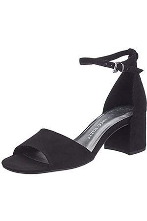 MARCO TOZZI Women's 2-2-28316-24 Ankle Strap Sandals, ( 001)