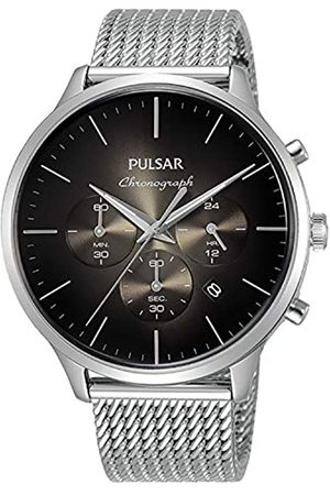Pulsar Men's Analogue Quartz Watch with Stainless Steel Strap 8431242965345