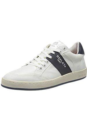 REPLAY Men's Blog - Fern Low-Top Sneakers, ( Navy 122)