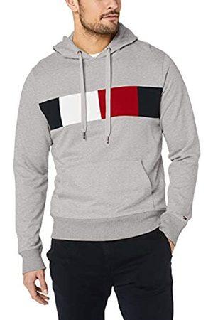Tommy Hilfiger Men's Flag Chest Insert Hoody Sweatshirt
