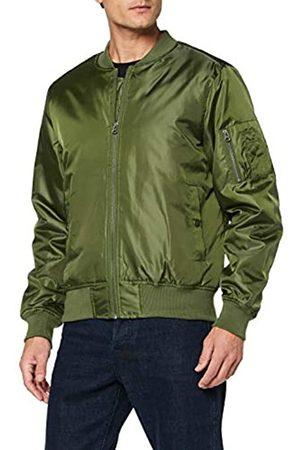 CliQue Men's Bomber Jacket (Military )