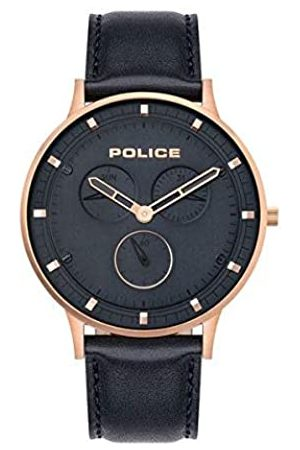 POLICE OUTLET Quartz Watch with Leather Strap 4895220909464