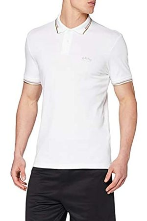 BOSS Men's Paul Curved Slim Fit Short Sleeve Polo Shirt