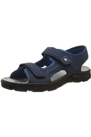 Richter Kinderschuhe Men's Adventure Ankle Strap Sandals, (Atlantic/Pacific 7201)