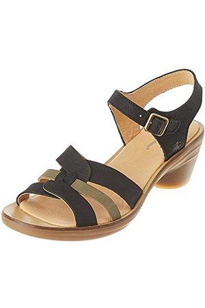El Naturalista Women's N5364 Pleasant Aqua Open Toe Sandals