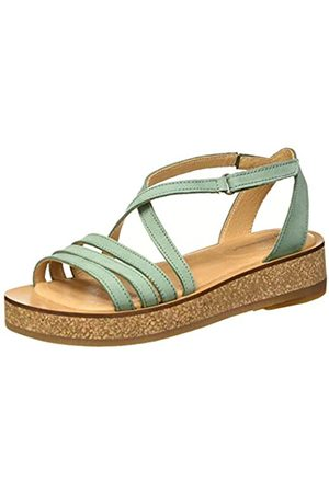 El Naturalista Women's N5592 Pleasant TÜLBEND Open Toe Sandals, (Mint Mint)