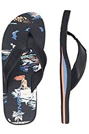 O'Neill Men's Fm Arch Graphic Sandalen Flip Flops, ( AOP W/ 9950)