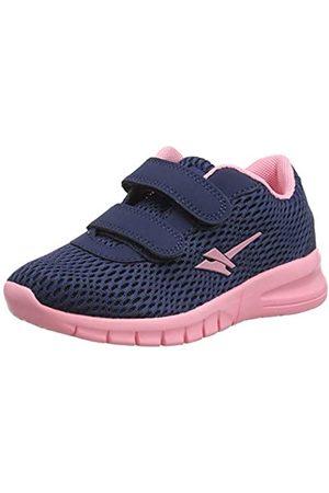 Gola Girls' BETA 2 Velcro Fitness Shoes, (Navy/ Ek)