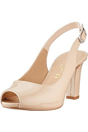 unisa Women's Nicka_Classic_20_pa Sling Back Pumps, (Nude Nude)