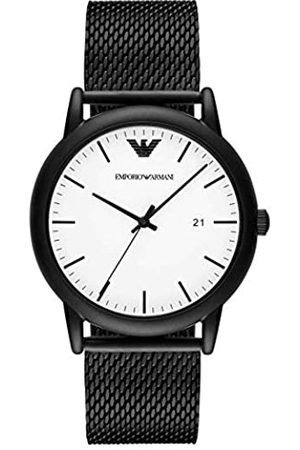 Emporio Armani Mens Analogue Quartz Watch with Stainless Steel Strap AR11046