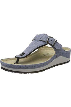 Berkemann Women's Mila Flip Flops, (Jeansblau 346)