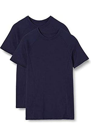 IRIS & LILLY Women's Thermal Top Raglan sleeve Snug Fit, Pack of 2