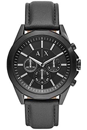 Armani Quartz Watch with Leather Strap AX2627
