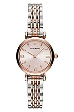Emporio Armani Womens Analogue Quartz Watch with Stainless Steel Strap AR11223
