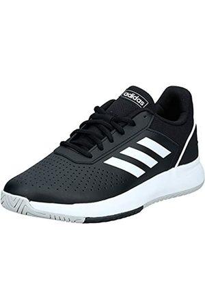 adidas Men's Courtsmash Tennis Shoes, (Negbás/FTW Bla/Gridos 000)