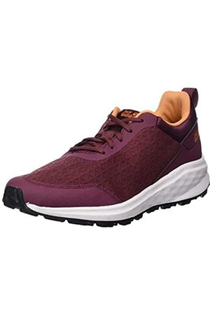 Jack Wolfskin Women's Coogee Lite Low W Top Sneakers, (Burgundy/Apricot 2824)
