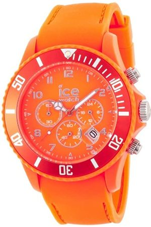 Ice-Watch Men's Quartz Watch with Dial Chronograph Display and Silicone Strap CHM.FO.B.S.12