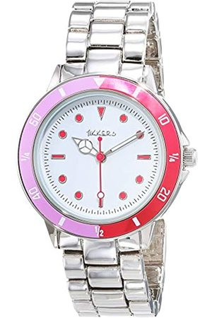 Tikkers Girl's Analogue Quartz Watch with Metal Strap ATK1051