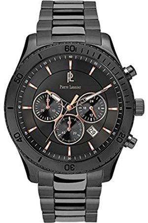 Pierre Lannier Mens Chronograph Quartz Watch with Stainless Steel Strap 201D489