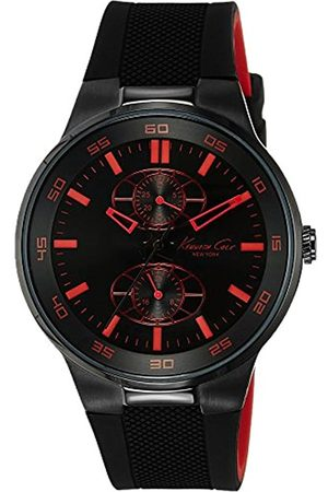 Kenneth Cole Men's Quartz Analogue Watch with Rubber Strap IKC8033