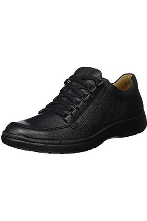 Jomos Men's Atlanta Oxfords, (Schwarz 44-000)